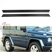 Mercedes G Class 2 Door W463 W460 W461 Exterior Mouldings Set Fiberglass 2 Pcs
