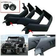 Carbon Fiber Fenders 4x4 Squared With Leds