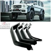 Mercedes Benz Frp Fender Flares 4x4 Squared W463 G63 G550 Brabus Style G Wagon