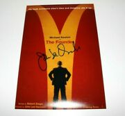 Director John Lee Hancock Signed 'the Founder' 12x18 Movie Poster A W/coa Proof