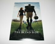 Director John Lee Hancock Signed 'the Blind Side' 12x18 Movie Poster W/coa Proof
