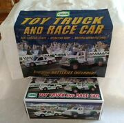2011 Hess Toy Truck And Race Car Collectible Original Packaging Box Bag