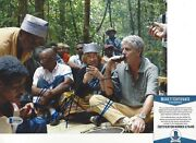 Anthony Bourdain Signed 8x10 Photo Beckett Coa 2 No Reservations Parts Unknown