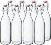 Clear Beer Bottles 16 Easy Cap Glass Bottle With Stopper,home Brewing Bottles
