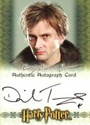 The World Of Harry Potter 3d David Tennant 2007 Comic Con Autograph Card