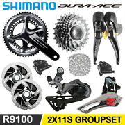 Shimano Duraace R9100 Groupset Crankset Brake Derailleur 2x11s Road Bike Bicycle