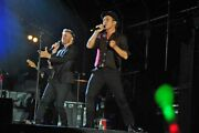 Gary Barlow Mark Owen Take That Live At Carfest England Photograph Picture Print