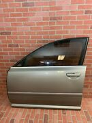 2005-2008 Audi A8 Left Front Driver Side Door Shell Atlas Gray Metalic Code Ly7q