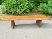 Live Edge Coffee Table Natural Wood Bench Adirondack Log Call About Delivery Fee