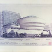 The Modern Gallery Museum For The Guggenheim Foundation Frank Lloyd Wright
