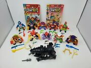 Vintage 1991 Hasbro Moo Mesa Action Figures Complete Set With Iron Horse
