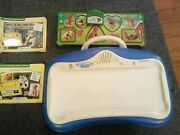 Leap Frog Little Touch Leap Pad Learning System 2 Books And Farm Friends Puzzle