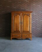 Tv Cabinet Armoire Country French Tv Cabinet By Ethan Allen