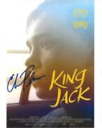 Actor Charlie Plummer Signed 'king Jack' Movie 8x10 Photo W/coa Lean On Pete