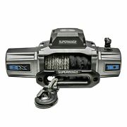 Superwinch Sx10000sr 12vdc Winch 10000lbs Single Line Pull 80and039 Synthetic Rope
