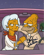 Olympia Dukakis Signed Authentic And039the Simpsonsand039 8x10 Photo W/coa Actress