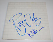 Roger Waters And Nick Mason Signed Authentic And039the Walland039 Record Album Lp Coa Proof