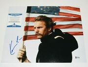 Kevin Costner Signed And039dances With Wolvesand039 11x14 Movie Photo Beckett Coa Jfk