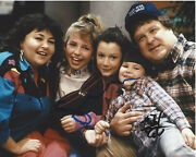 Sara Gilbert And Michael Fishman Signed Roseanne 8x10 Photo W/coa The Conners