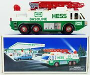 Hess Toy Emergency Truck With Extending Ladder 1996 New 2
