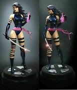 Marvel Universe Psylocke From The X-men Painted Statue By Bowen Designs