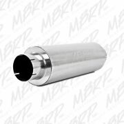 Mbrp 5 Quiet Tone Stainless Diesel Muffler M2220s 5 Inlet / Outlet Universal