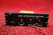 Bell Helicopter Jewell Afcs Actuator Position Panel Pn 412-075-406-101