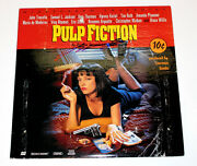 John Travolta Hand Signed Authentic And039pulp Fictionand039 Laser Disc Ld W/coa Proof