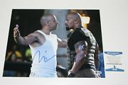 Vin Diesel Signed And039fast Fiveand039 11x14 Movie Photo Beckett Coa Actor 8 Furious Rock