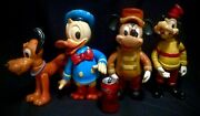 Holy Grails Huge Vtg 1970andrsquos Disney Mickey Mouse Donald Duck Goofy Pluto Figures