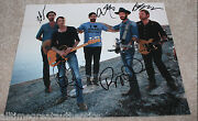Band Of Horses Rock Group Signed Authentic 11x14 Photo W/coa X5 Infinite Arms