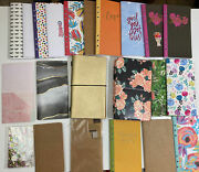 Lot Of Travelerandrsquos Notebooks And Covers Agenda 52 Recollections Planner 22 Pieces