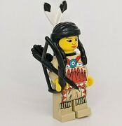 Western Indian Lego Minifigure Minifig Native American Bow And Quiver Lot 018 Girl