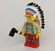 New Western Indian Chief Lego Minifigure Native American Lot 017 Battle Axe