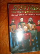 New Star Trek The Next Generation Collector Playing Cards Hoyle New In Package