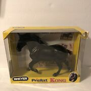 Breyer Priefert Kong Black Horse Mare 1477andnbspcollectible Model 19 Scale Read