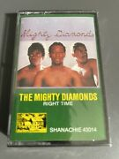 The Mighty Diamonds-right Time New Sealed Cassette Tape