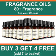 Elite99 100 Pure Natural Fragrance Oils 10ml For Bathbomb Candle Soap Making