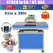 Us Stock 31in X 39in Large Format Heat Press Machine Manual Textile Transfer