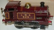 Hornby O Gauge C/w 0-4-0 Tank Locomotive In Red Livery Boxed