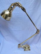 Nautical Antique Wall Sconce Adjustable Navy Bow Light Industrial Brass 10 Piece