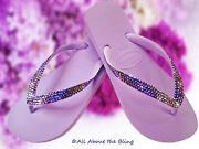Crystal Flip Flops Havaianas Using Crystals Jeweded By Hand
