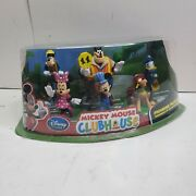 Disney Mickey Mouse Clubhouse Figurine Playset City Workers Rare
