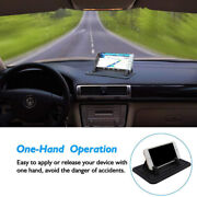 Car Dashboard Anti-slip Silicone Mat Mount Holder Pad Stand For Universal Phones