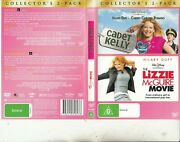 Cadet Kelly-2002 And The Lizzie Mcguire Movie-hilary Duff-2 Movie-2 Dvd
