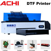 Direct To Film Dtf Printer For T-shirt Andepson 1390 Head Flatbed 3d Embossed Oven