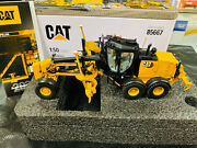 Caterpillar Cat 150 Motor Grader 150 Scale By Diecast Masters Dm85667 New Box