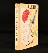 1962 The Spy Who Loved Me James Bond Ian Fleming First Edition First Impression