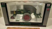 Spec Cast 25th Anniversary Oliver 66 W/ Spring Tooth Harrow 116 Stock Sct326