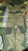British Army Issue Typhoon Immersion Suit One Piece Size M Heavy Duty Goretex Sa